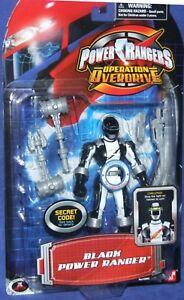 Power Rangers Operation Overdrive Noir Ranger Nouveau Action Casque Lumineux 5 '45557290023
