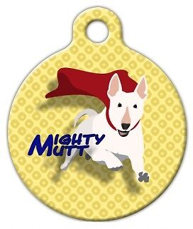 MIGHTY MUTT - Custom Personalized Pet ID Tag for Dog and Cat Collars