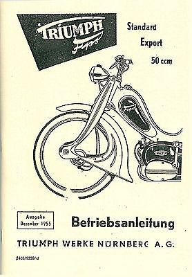Triumph Fips 50 Standard Export Bedienungsanleitung Handbuch Betriebsanleitung