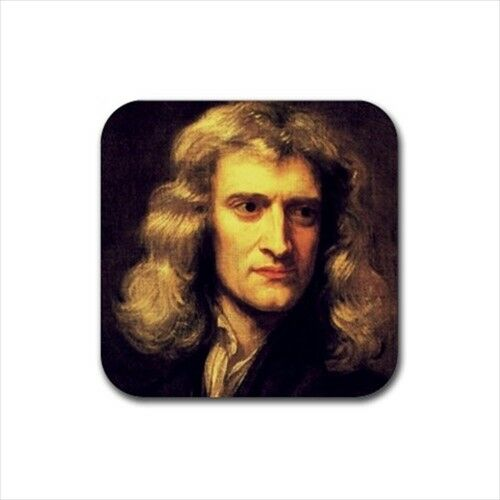 Isaac Newton Neoprene Coaster Set