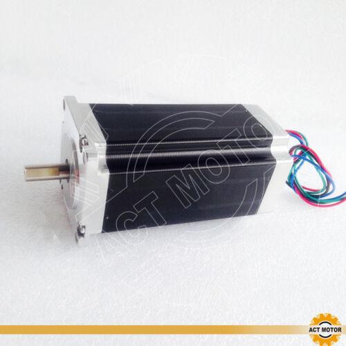 DE Free 1PC Nema23 Schrittmotor 23HS2442P15 112mm 425oz-in 4.2A D-Shaft Φ8mm