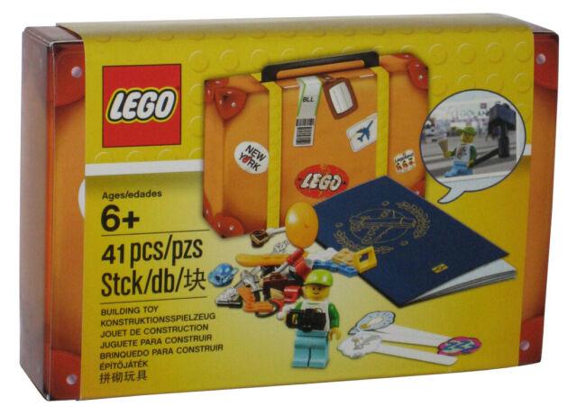LEGO Viaje Edificio Maleta Juguete de Construcción Juego 5004932