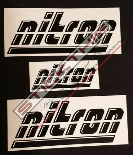 Suits Holden Commodore VL Nitron Boot /& Guard Decal Kit