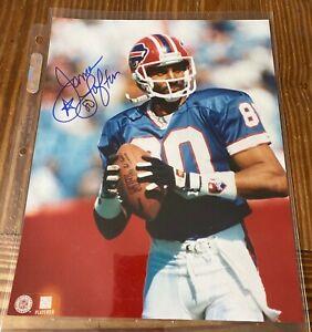James Lofton Signed 8X10 Photo Autograph + Billy Shaw HOF Buffalo Bills Auto Lot