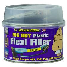 Reparación de parachoques de plástico flexible coche Llenador del cuerpo con Endurecedor & el aplicador 250ml