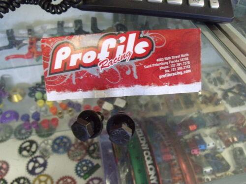 """PROFILE Racing 3//8/"""" X 24TPI BMX Vélo Manivelle Boulons 1 paire"""