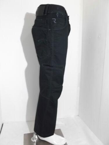 pantalone uomo g star raw fire man jack nero in cotone estivo taglia W32 W33 W34