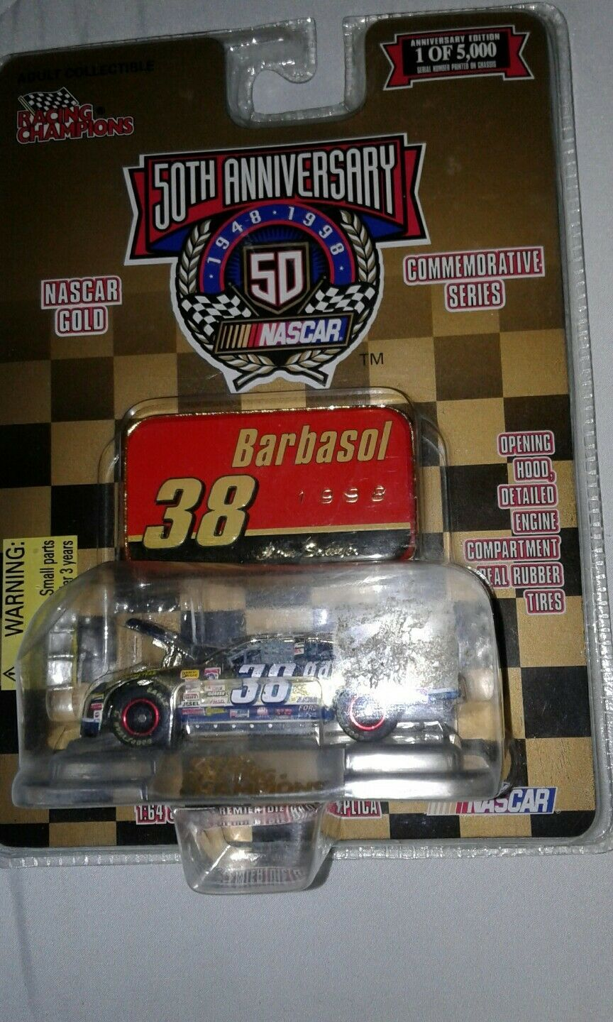 Racing Champions 50th Anniversary  38 Barbasol 1998 oro oro oro Commemorative 6ec6ef
