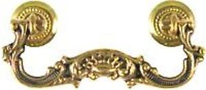 Discontinued-VICTORIAN-CAST-BRASS-DRAWER-PULL-B0752
