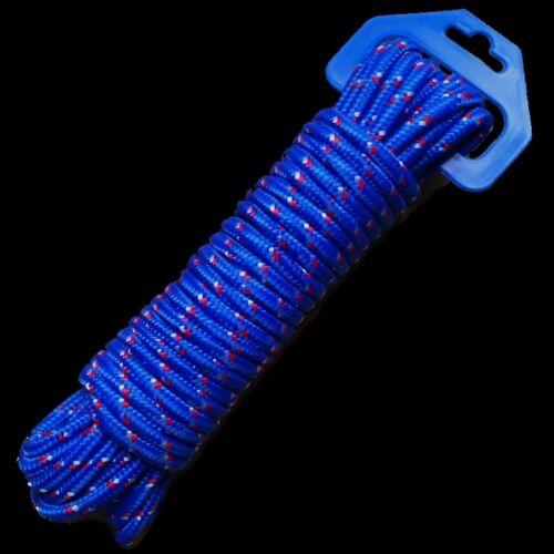 blau Multifunktions-Seil Allzweckseil Schnur Tau Leine Tauwerk 12 m 0,50€//m