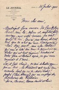 Jose-Maria-de-HEREDIA-Ensemble-de-deux-lettres-autographes-signees-Juil-1900