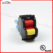 Dual Voltage Toggle Safety Switch Withkey 20a 125250v Delta 489105 00table Saw Ul