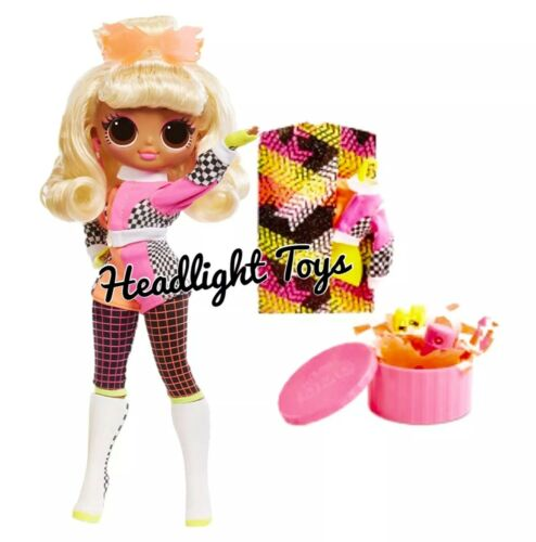 """1 Authentic LOL Surprise SPEEDSTER 10"""" OMG Fashion Doll Lights Neon Series 2 NEW"""