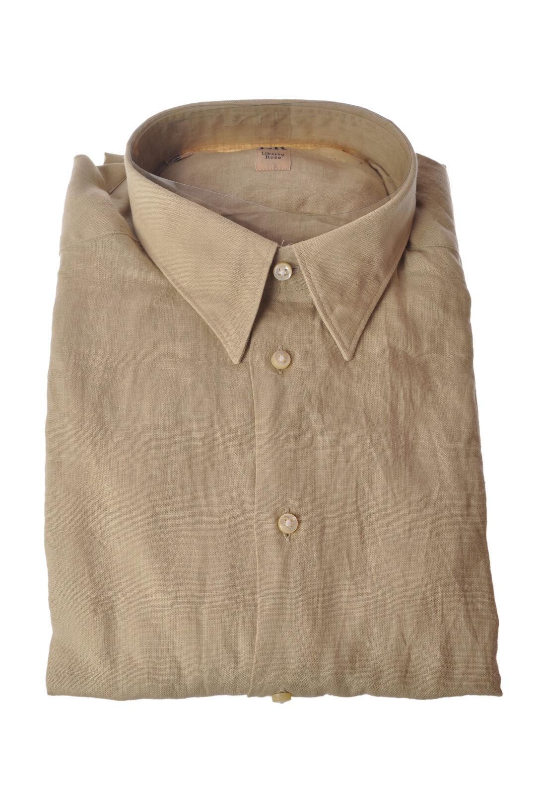 Liberty Rose  -  Shirt - Male - Beige - 3458921A182253