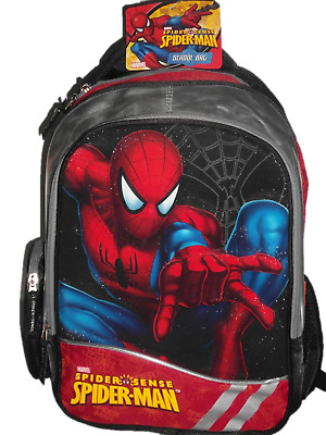 Spiderman Schulranzen Rucksack-Trolley 3D Kindergartentasche Schultasche Ranzen