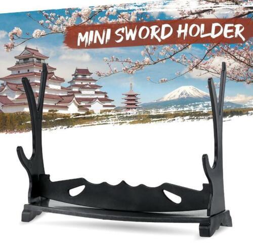 2 Tier Katana Samurai Sword Katana Holder ount Display Stand Bracket Rack Hanger