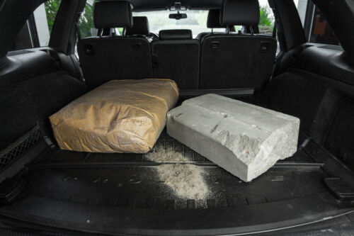 Premium Gummi Kofferraumwanne mit Organizer für Subaru XV 2011-2018
