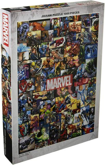 1000 piece jigsaw puzzle Marvel. Universe (51x73.5cm)