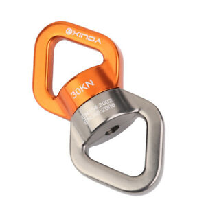 30KN Safety Rotator Rope Swivel Connector Spinner for Tree Climbing Swing Aerial