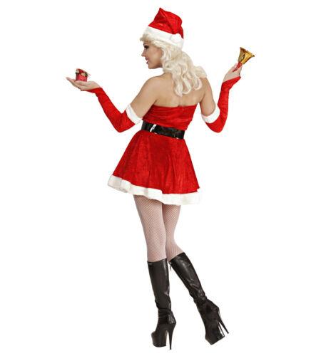 Costume Babbo Natale Donna PS 22509 Miss Santa