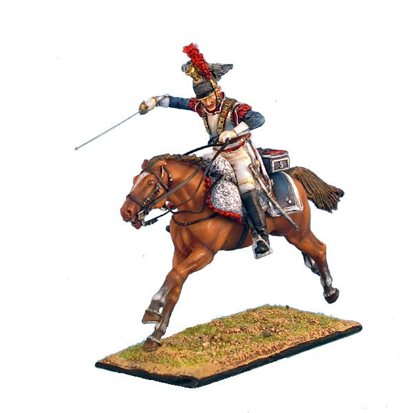 First Legion  NAP0246 French 5th Cuirassiers Trooper Charging