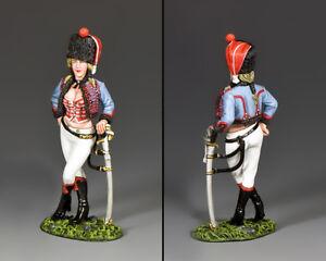 Hussard Roi Et Pays Napoléonien Hussie # 2 Sophie Na411
