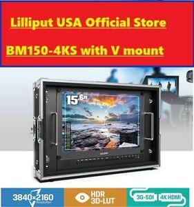 LILLIPUT-BM150-4KS-Carry-on-Rackable-4K-Broadcast-Director-Monitor-HDR-3D-LUT