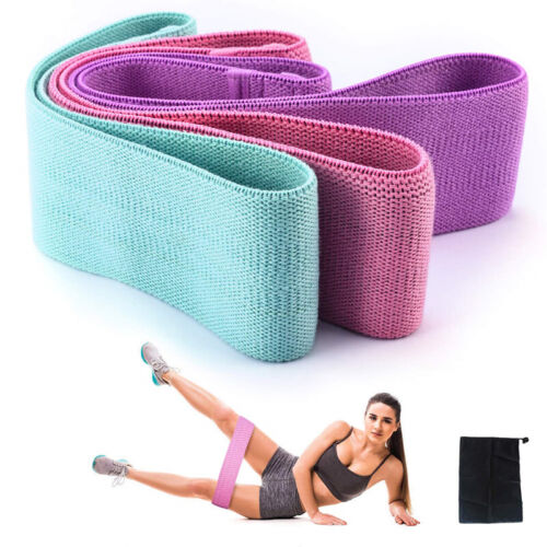 Resistance Booty Band HIP CIRLCLE Loop Workout Exercise Strength Weight Training