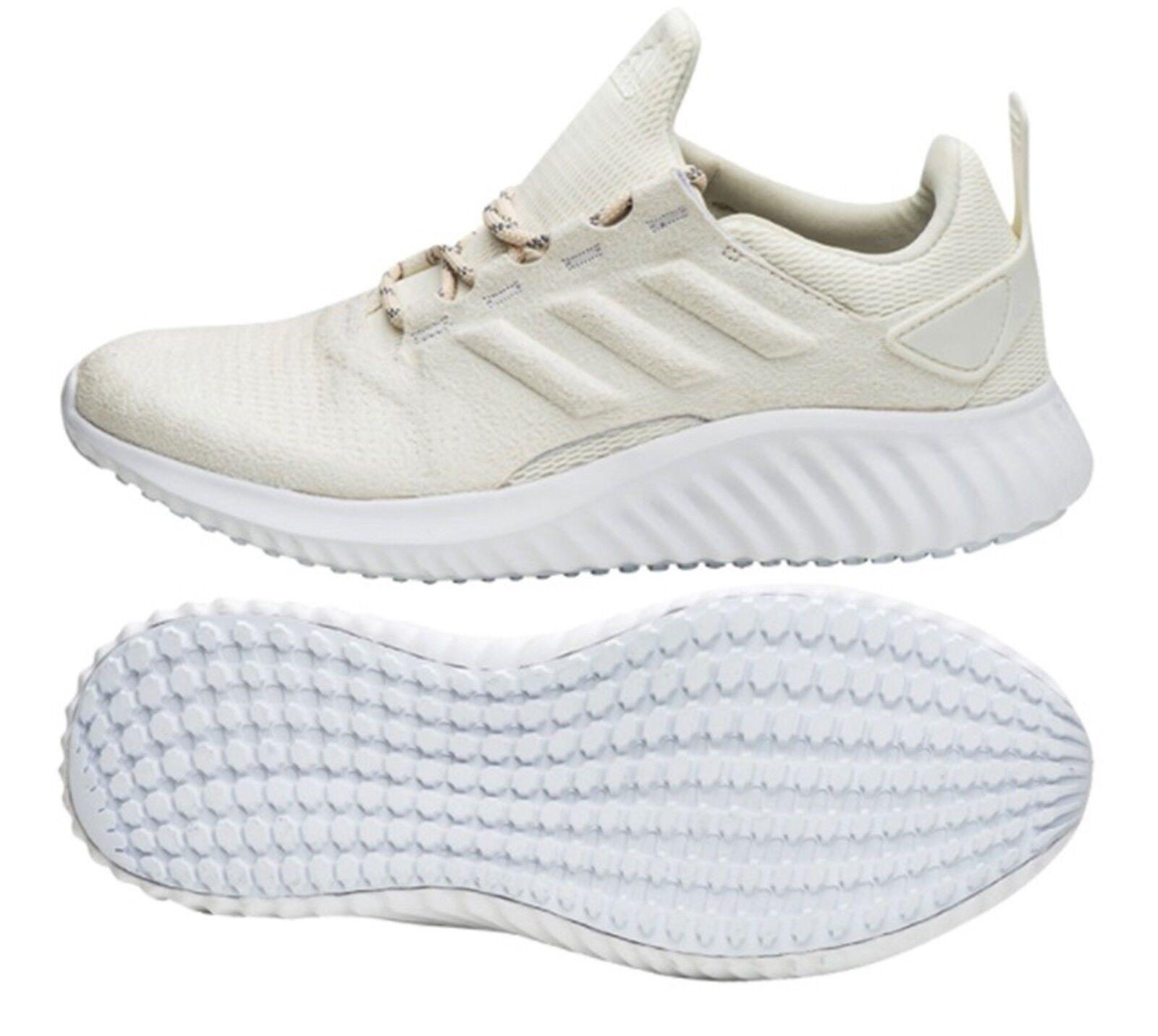 Adidas Sie Alpha Bounce CR Trainingsschuhe Laufende Beige Turnschuhe Schuhe DB1677
