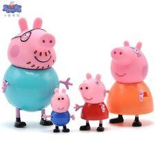 Oferta Peppa Pig Figuras Lote de 4 figuras Nino Juguetes Dibujos Animado Muñecos