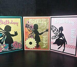 Lot-of-3-Handmade-Birthday-Fairy-Greeting-Cards