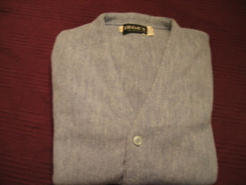 Vintage  (60's?)   Mens Cardigan Sweater Size M