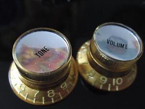 Reflecteur-Knob-Set-silverface-VINTAGE-TINT-Montreux-Selected-Fits-To-Les-Paul