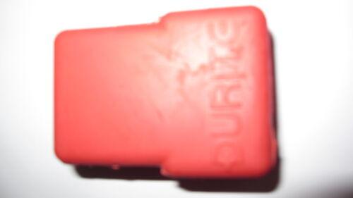 Durite 1-558-99 terminal batterie en caoutchouc rouge couvre 10 Pcs