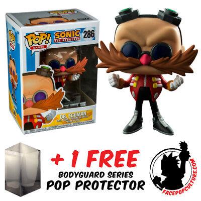 FREE POP PROTECTOR FUNKO POP SONIC THE HEDGEHOG SHADOW VINYL FIGURE