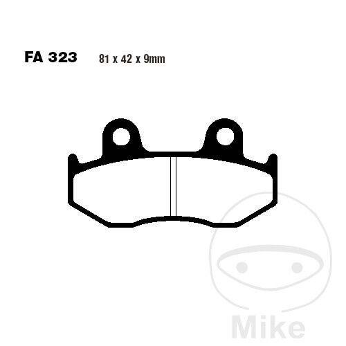 Honda NES/PES 125/150, Bremsbeläge, vorne