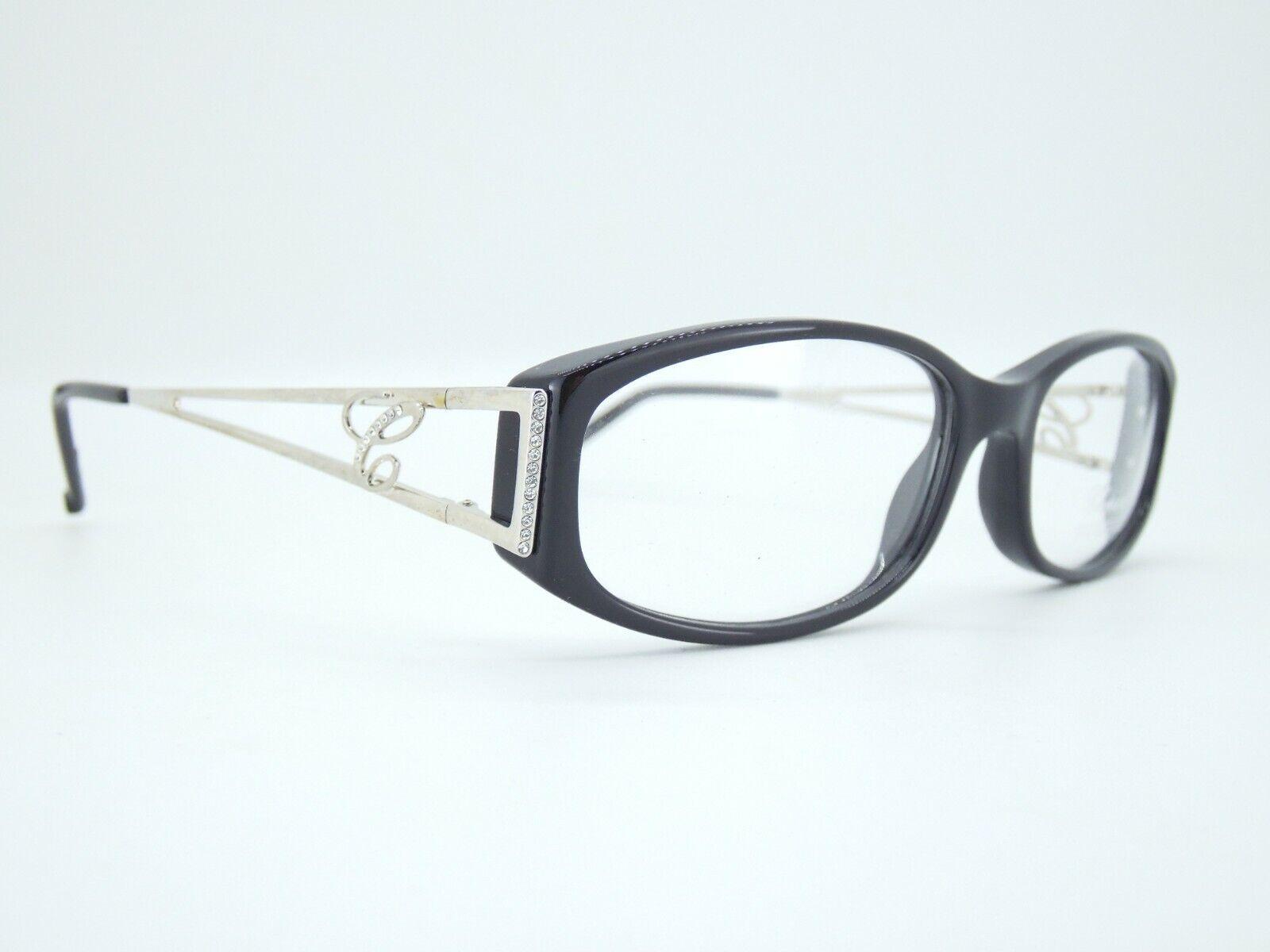 CHOPARD VCH025S 23KT GP SCHWARZ Brille eyeglass frame Goggles NEU NEW