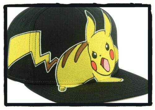 pokemon Pikachu 'angry Pika' SnapBack hat new  $36.00 retail $8 shipping to usa