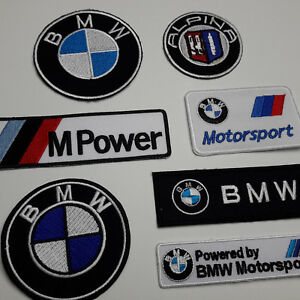BMW-CAR-MARQUE-PATCH-STORE-Full-Size-Embroidered-Iron-On-Patches