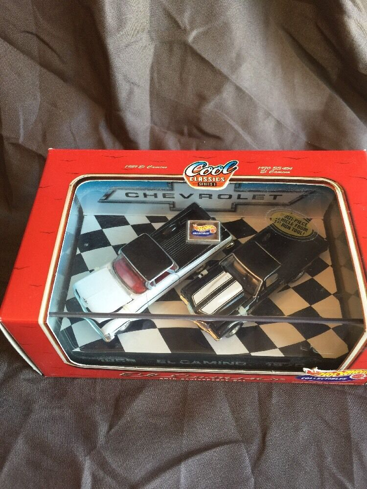 Hot Wheel 1998 El Camino  40th Anniversary Set Cool Classics Series 1
