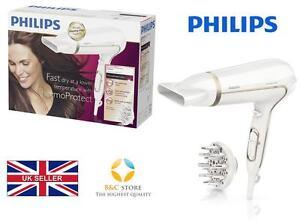 NEU-Philips-HP8232-00-Haartrockner-gold-Pflege-Cool-Profi-Salon-Ionisch-Volumen