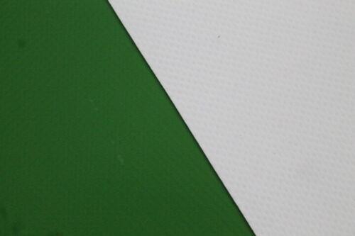 PVC Plane Abdeckplane LKW Plane Grün//Weiß Breite 3,00m XXL m 850gr//m² Neu