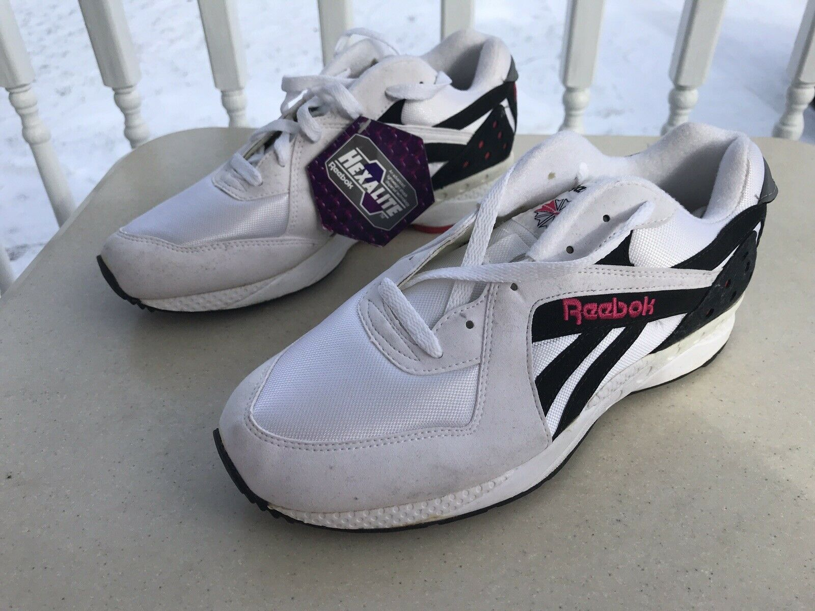Vintage New REEBOK Hexalite Deadstock baskets hommes taille US 9.5,EU 43, UK 9