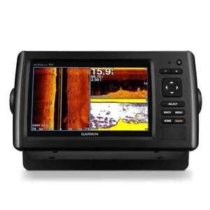 garmin echomap 73sv chartplotter sonar fishfinder cv40 tm xducr 010 rh ebay com