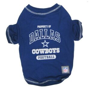 Dallas-Cowboys-Officially-Licensed-NFL-Dog-Pet-Tee-Shirt-Blue-XS-XL