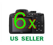 6x Nikon Coolpix P510 Digital Camera LCD Screen Protector Guard Film