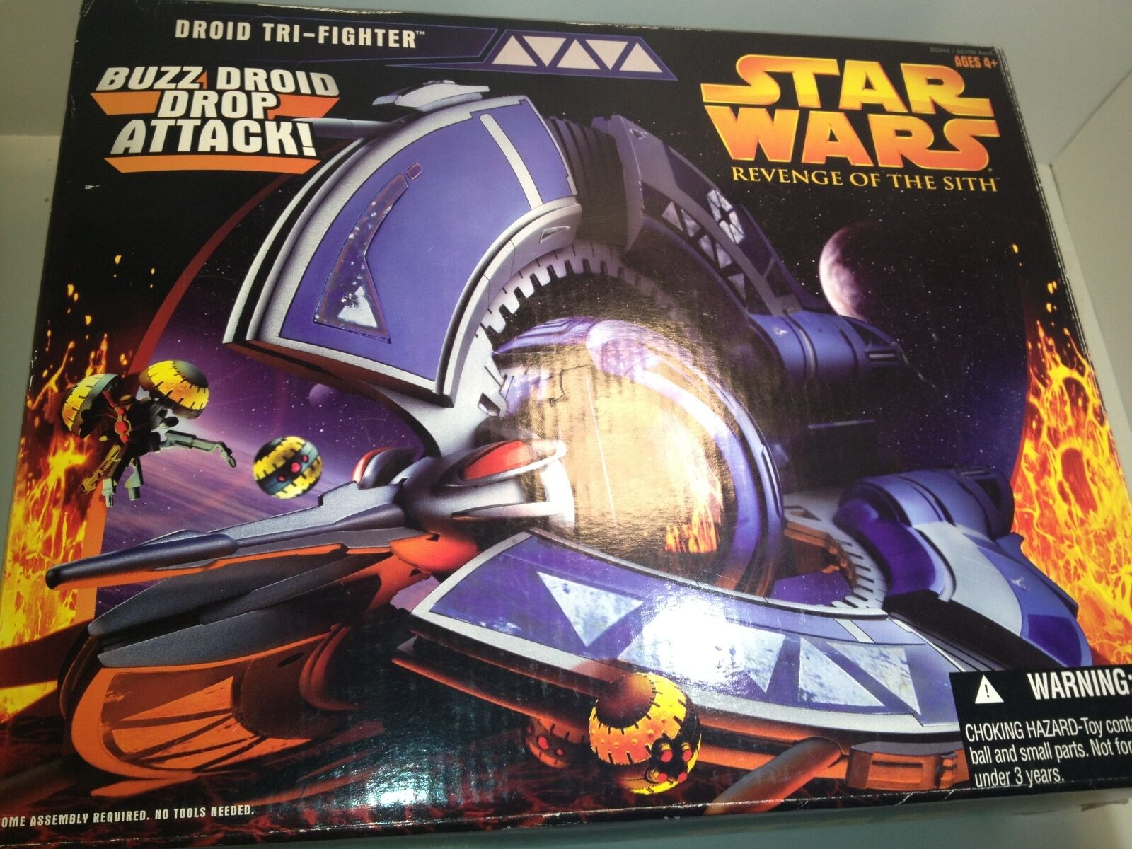 STAR WARS EPISODE 1 DROID DROID DROID TRI FIGHTER W BUZZ DROID DROP    free shipping ad12de