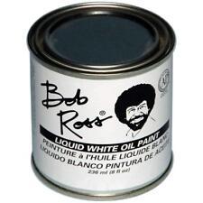 Bob Ross Liquid White Medium 8 oz Bottle Oil Paint Base Coat