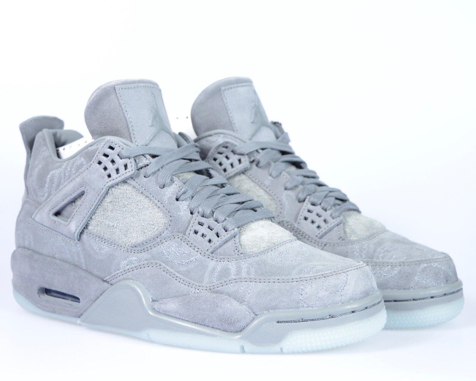 Nike air jordan 4 iv x kaws confezioni noi & 10