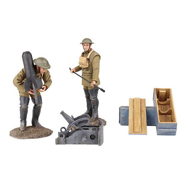 Britains Guerra Mondiale 1 23108 191718 USA Mortaio Girocollo con Francese